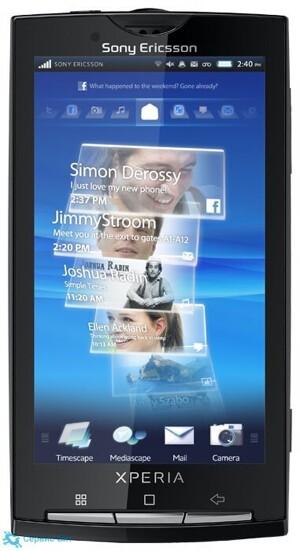 Sony Ericsson Xperia X10 | Сервис-Бит