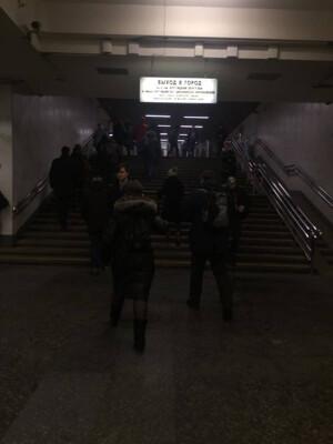 От метро «Пролетарская» (последний вагон из центра), выходим из стеклянных дверей налево, по подземному переходу первый поворот налево и поднимаемся по ступенькам. | Сервис-Бит