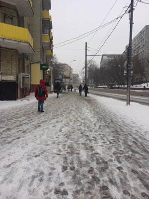 Двигаемся вдоль Воронцовской улицы до первого регулируемого пешеходного перехода. | Сервис-Бит
